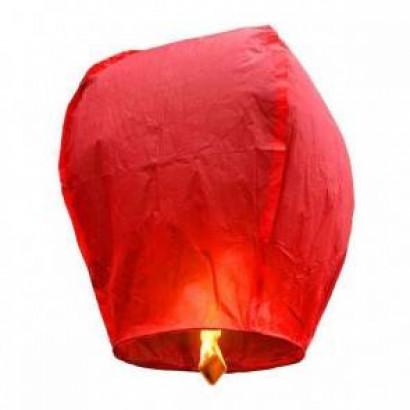 Červený Lietajúci lampión ECO
