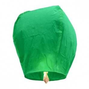 Zelený Lietajúci lampión ECO