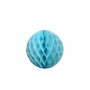Dekoratívna Papierová guľa Honeycomb 30cm modrá