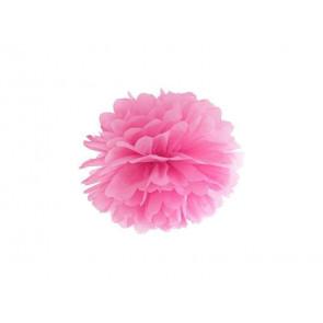 1ks Papierový Pompón - ružový