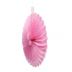 Papierová Rozeta 20cm ružová